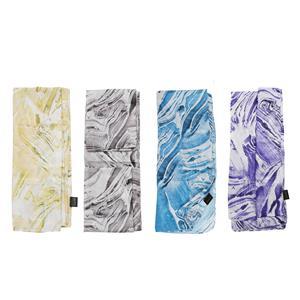 Destello Colours of Nature Agate Stone print scarf  (4 Colours available)