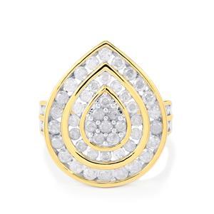 2ct Diamond 10K Gold Tomas Rae Ring