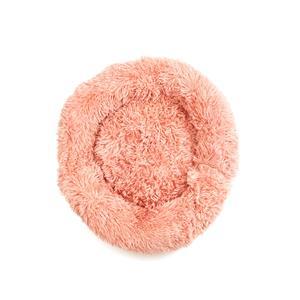 Destello Fluffy Pink Pet Bed - Size Medium 60cm