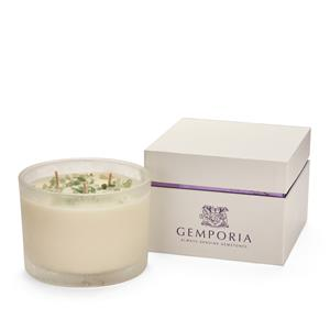Seasons Range 2018: Triple Wick Springtime Candle - Narcissus with Green Aventurine ATW 30cts