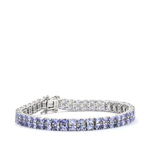 14.54ct Tanzanite Sterling Silver Bracelet