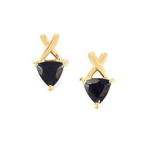 Bengal Iolite Earrings in 9K Gold 0.72ct