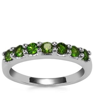 Chrome Diopside Ring in Sterling Silver 0.72ct