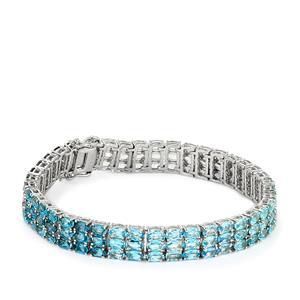 Ocean Hues Bracelet in Sterling Silver 25.57cts