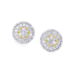 Diamond Earrings in 9K Gold 2ct