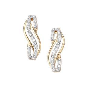 Argyle Diamond Earrings in 10K Gold 0.25ct