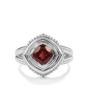 1.63ct Octavian Garnet Sterling Silver Romulus Ring