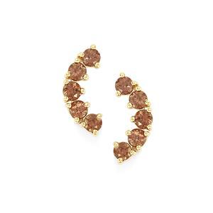 2.23ct Bekily Colour Change Garnet 9K Gold Earrings