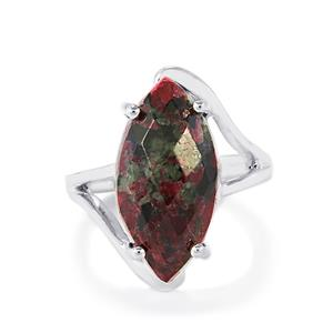 Eudialyte Ring in Sterling Silver 8.50cts