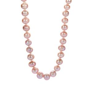 The Ultimate Naturally Coloured Pink Kaori Cultured Pearl Necklace (9mm)