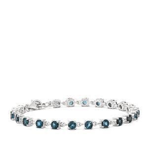 7.14ct Marambaia London Blue Topaz Sterling Silver Bracelet