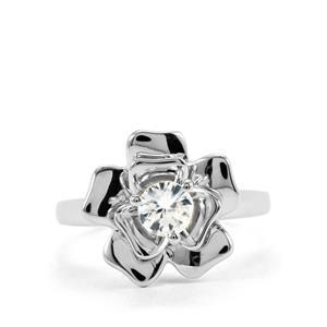 0.59ct Singida Tanzanian Zircon Sterling Silver Ring