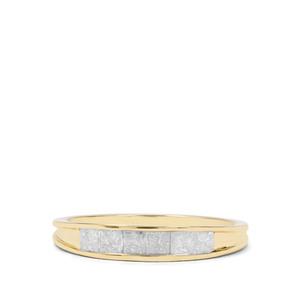 1/2ct Diamond 9K Gold Ring