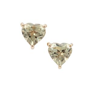 Csarite® Earrings in 9K Gold 1.60cts