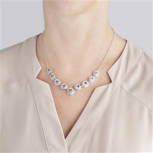 Itinga Petalite Necklace in Sterling Silver 8.13cts