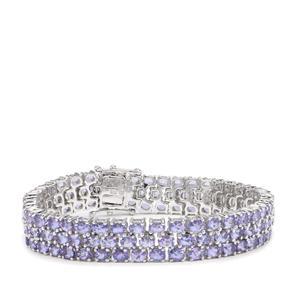 Tanzanite Bracelet in Sterling Silver 22cts