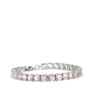 Alto Ligonha Morganite Bracelet in Sterling Silver 18.90cts