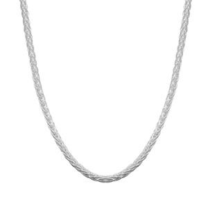 """26"""" Sterling Silver Dettaglio Mini Spiga Slider Chain 8.09g"""