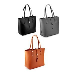 2019 Winter - Ladies Genuine Leather Handbag with Genuine Gemstones