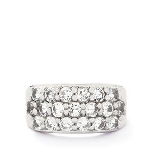 2.38ct White Topaz Sterling Silver Ring