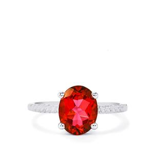 Cruzeiro Topaz Ring in Sterling Silver 3.01cts