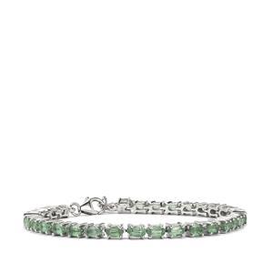 9.36ct Odisha Kyanite Sterling Silver Bracelet