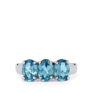 2.78ct Marambaia London Blue Topaz Sterling Silver Ring
