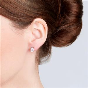 Ratanakiri Zircon Earrings in Sterling Silver 2.32cts