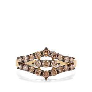 Argyle Diamond Ring in 10K Gold 1.05ct