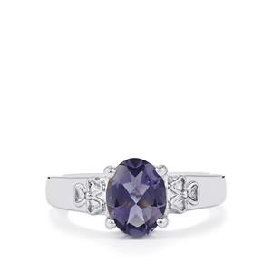 1.31ct Bengal Iolite Sterling Silver Ring