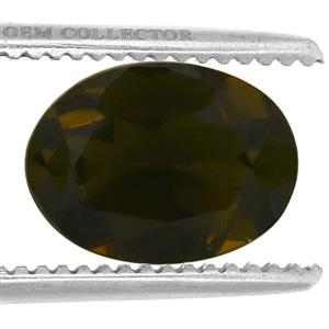 Chrome Tourmaline GC loose stone  0.95cts