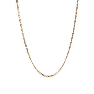 """18"""" 9K Gold Classico Diamond Cut Curb Chain 1.43g"""