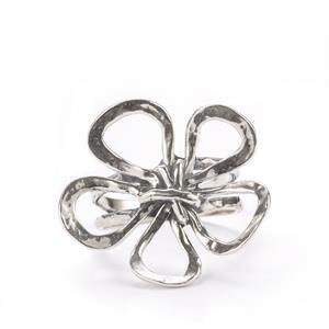 Seasons Sterling Silver Flower Ring