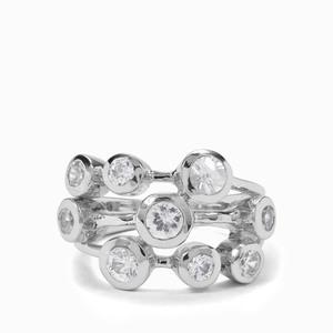 1.44ct Ratanakiri Zircon Sterling Silver Ring