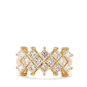 2.75ct Natural Fancy Diamond 18K Gold Tomas Rae Ring