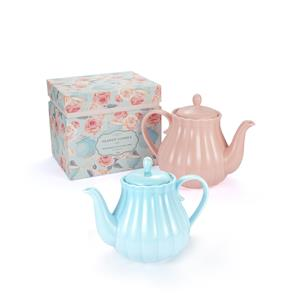 Afternoon Tea Collection - Teapot Candle with Earl Grey Fragrance and Gemstones ATGW 20cts