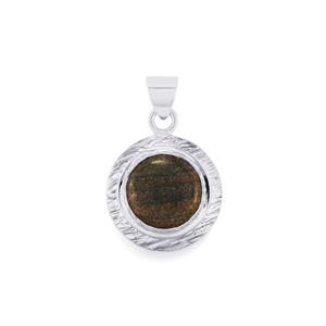 Andamooka Opal Pendant in Sterling Silver 7.50cts