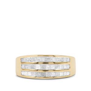 3/4ct Diamond 10K Gold Tomas Rae Ring