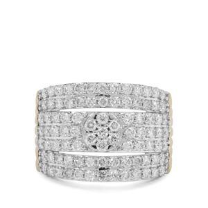 1.50ct Argyle Diamond 9K Gold Ring