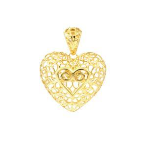 10K Gold Pendant