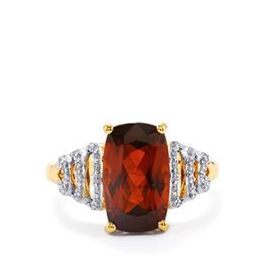 Colour Change Bastnaesite & Diamond 18K Gold Lorique Ring MTGW 6.46cts