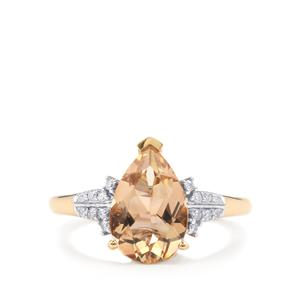 Serenite Ring with Diamond in 18K Gold 2.63cts