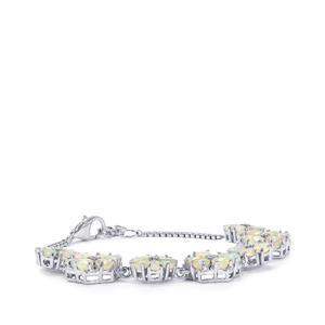 Ethiopian Opal Bracelet in Sterling Silver 8.60cts