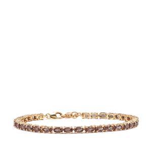 9.58ct Tsivory Colour Change Garnet 9K Gold Tomas Rae Bracelet