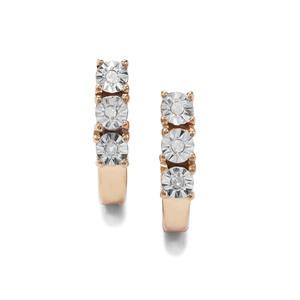 Diamond Midas Halo Diamond Earrings