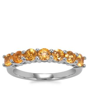 Golden Tourmaline Ring in Sterling Silver 1.15cts