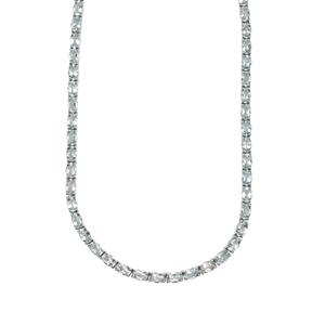 Sokoto Aquamarine Necklace in Sterling Silver 25.26cts