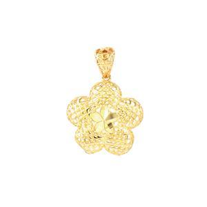 Seasons Flower Pendant in 9K Gold