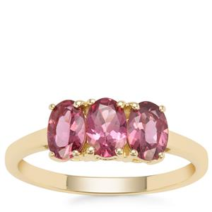 Mahenge Spinel Ring in 9K Gold 1.46cts