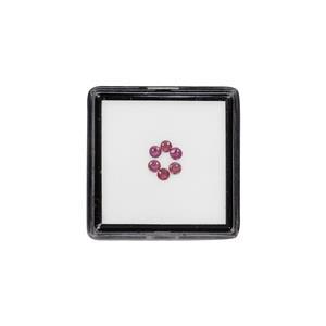 Padparadscha Sapphire Gem Box 0.41ct